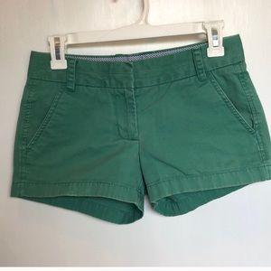 J Crew women's chino shorts